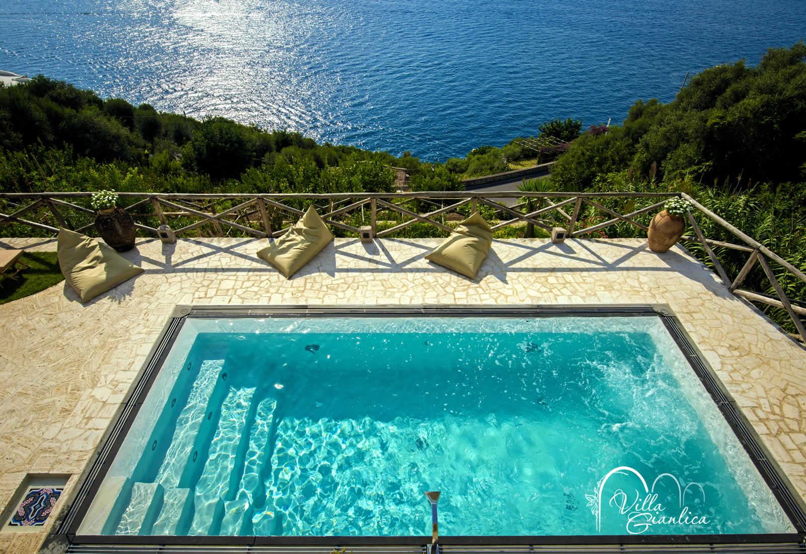 Piscina hotel villa gianlica praiano 5km da positano - Villa dei sogni piscina ...